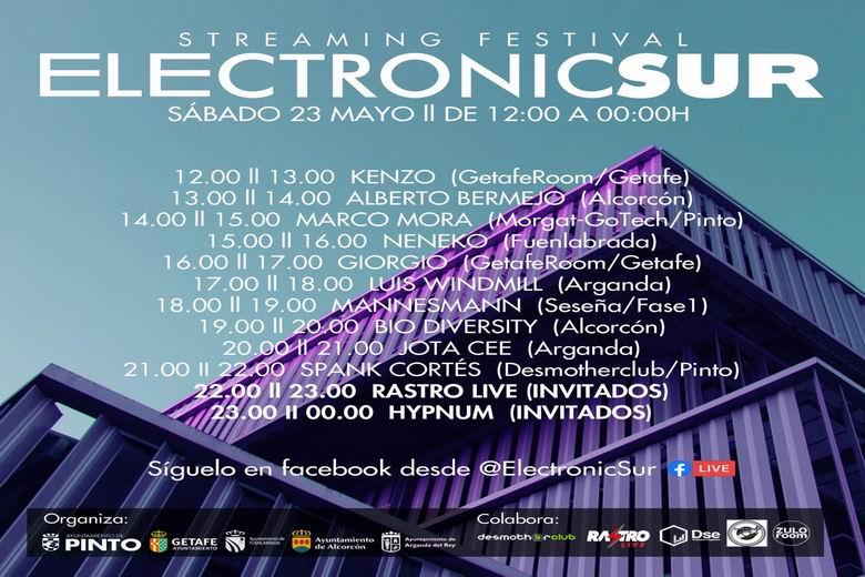 Electronic Sur sigue creciendo: Dj's de Pinto, Getafe, Fuenlabrada, Alcorcón y Arganda y 12 horas non-stop