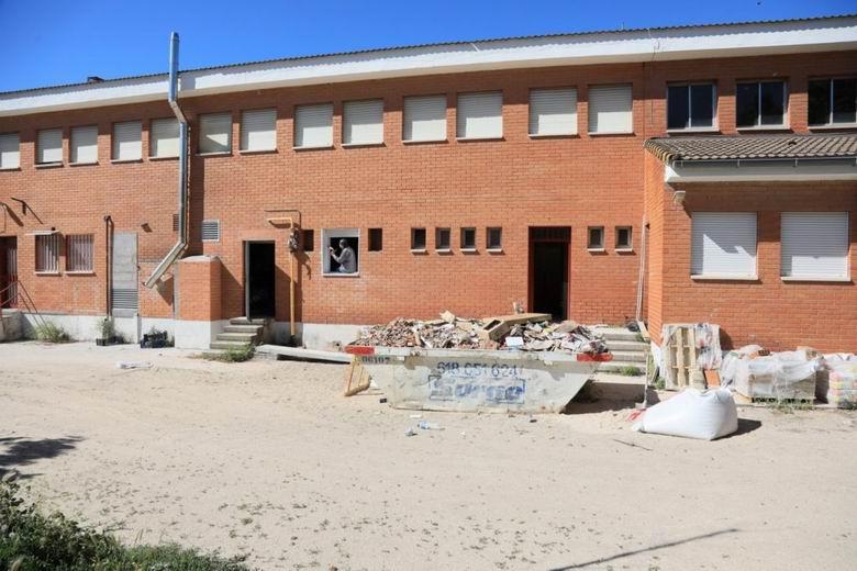 Getafe adelanta las obras de verano de mantenimiento y mejora de colegios