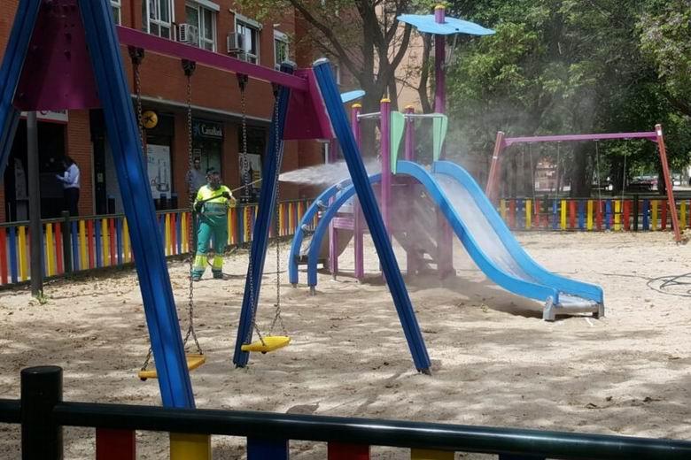 Getafe reabre el lunes las áreas infantiles del municipio