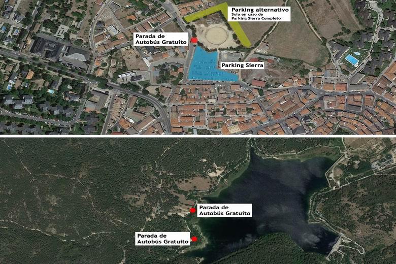 Guadarrama pone en marcha durante los fines de semana de verano un autobus para acceder al entorno de La Jarosa