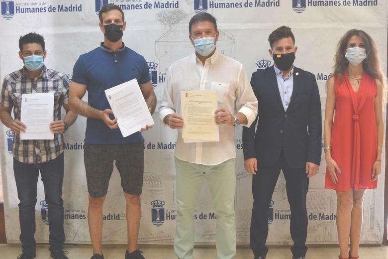 Humanes firma un acuerdo con los sindicatos policiales que mejorará la seguridad en el municipio