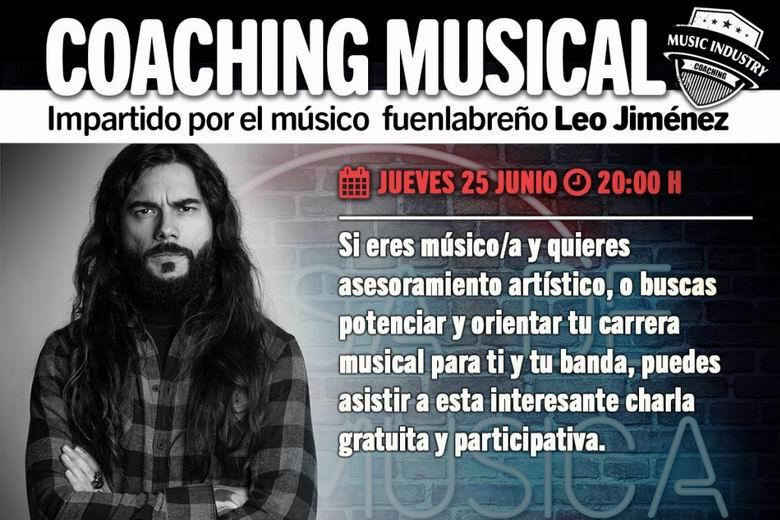 Fuenlabrada organiza una sesión de coaching musical con Leo Jiménez en el marco del programa 'Music Industry'