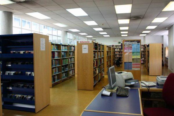 mostoles biblioteca central