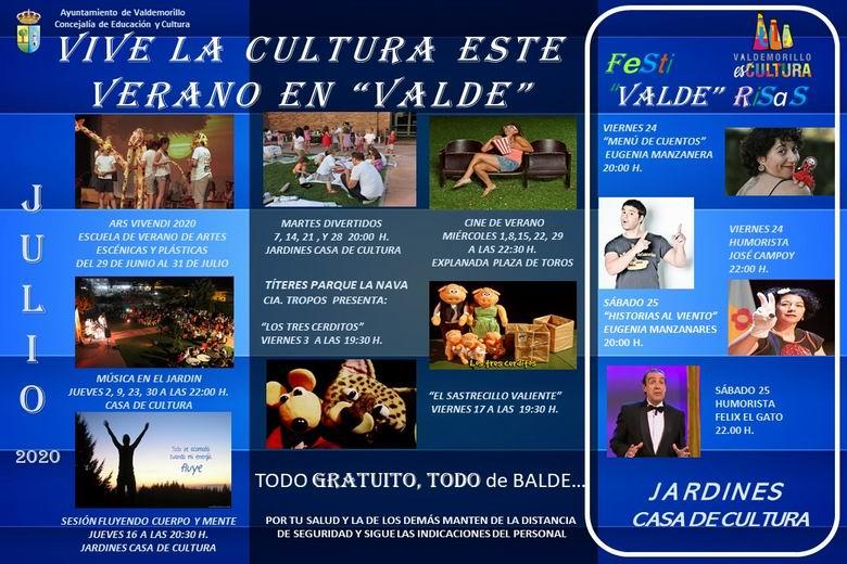 Valdemorillo presenta su programación cultural para este verano