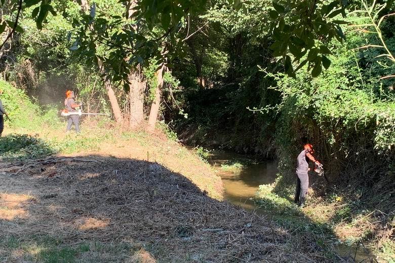 Arroyomolinos inicia los trabajos de limpieza y desbroce de los cauces de los dos arroyos que atraviesan el casco urbano