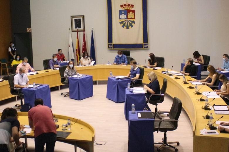 El Pleno de Fuenlabrada respalda y apoya el Plan de Reconstrucción y Protección Ciudadana del municipio