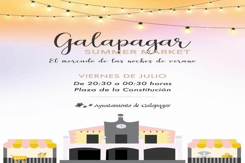 Este viernes llega a Galapagar el 'Summer Market', el mercado de las noches de verano