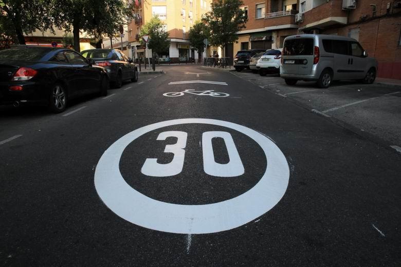 Getafe se une a las ciudades con límite de velocidad de 30 km/h para áreas residenciales