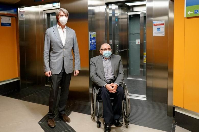 La Comunidad de Madrid amplía la accesibilidad de Metro con la instalación de nuevos ascensores en las estaciones de Bilbao y Plaza Elíptica