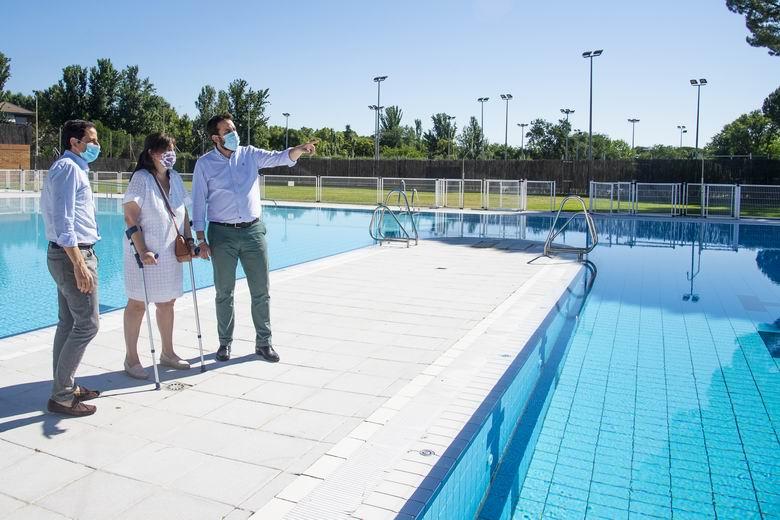 El lunes abre la piscina de verano del polideportivo municipal Carlos Ruiz de Pozuelo con medidas especiales
