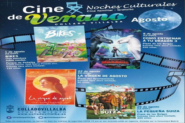 Collado Villalba pone en marcha un cine de verano en agosto y un autocine en septiembre