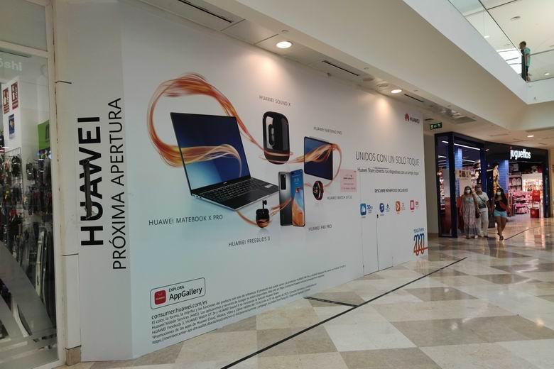 Huawei inaugura una nueva tienda en el Centro Comercial intu Xanadú de Arroyomolinos