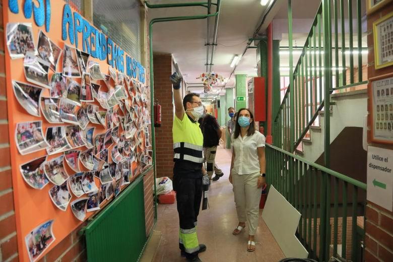 Getafe atiende todas las necesidades de espacios municipales para aulas en el inicio del curso