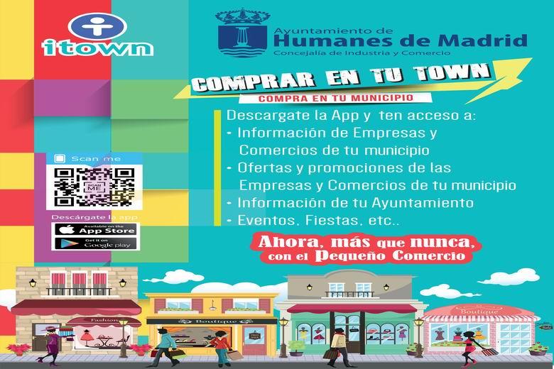 Más de 70 comercios de Humanes disponen de la aplicación gratuita ITOWN para promocionar sus servicios