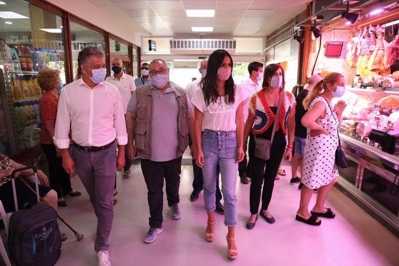Villacís explica a comerciantes y autónomos las medidas aprobadas por el Ayuntamiento de Madrid para mitigar el impacto de la pandemia