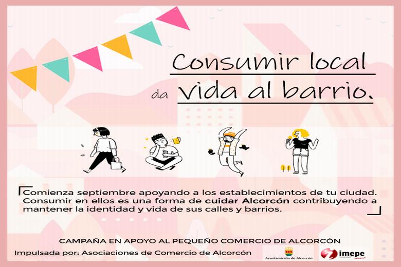 El IMEPE de Alcorcón lanza la campaña 'Consumir local da vida al barrio'