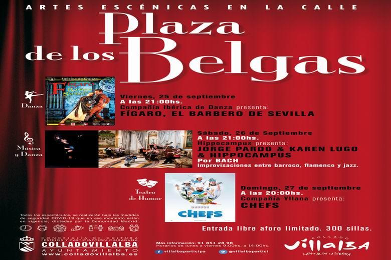 Collado Villalba aplaza los espectáculos previstos para este fin de semana ante la previsión de lluvias