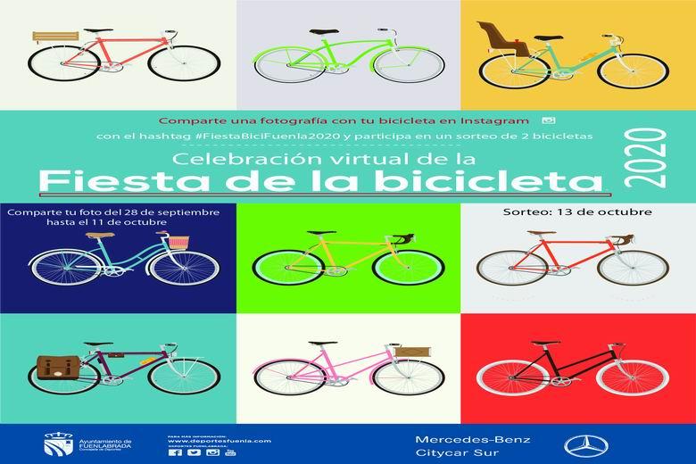 La tradicional Fiesta de la Bicicleta de Fuenlabrada se celebra este año de forma virtual
