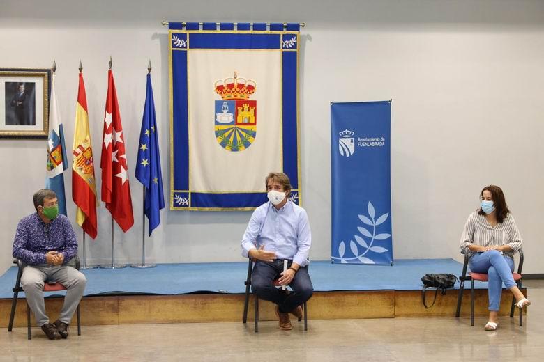 El alcalde de Fuenlabrada, Javier Ayala, exige a la Comunidad los informes técnicos que justifiquen las limitaciones en las áreas sanitarias de la ciudad