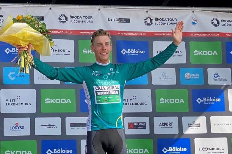 El ciclista de Galapagar Sergio R. Martín triunfa en el Tour de Luxemburgo