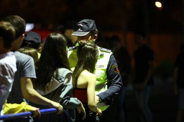 las rozas policia local dispositivo especial no fiestas botellon