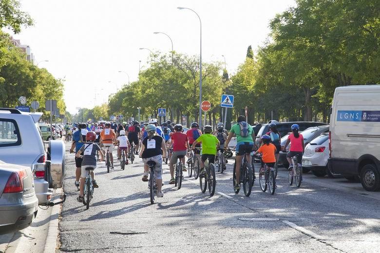 Leganés visibiliza la importancia del uso de la bicicleta en la Semana Europea de la Movilidad