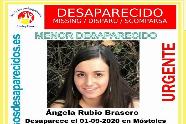 SOS Desaparecidos busca a una menor de 16 años desaparecida en Móstoles