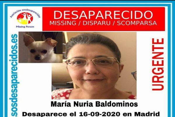 mujer desaparecida madrid 01