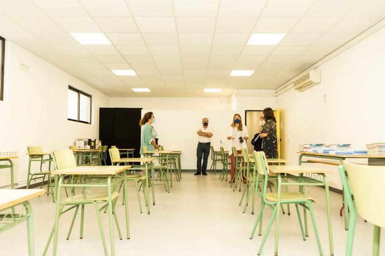 33 alumnos del colegio público Infanta Elena de Pozuelo empiezan sus clases en la Sala Educarte