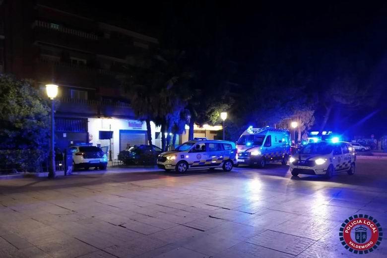 Dos personas denunciadas en Valdemoro tras una reyerta en la Plaza de la Piña