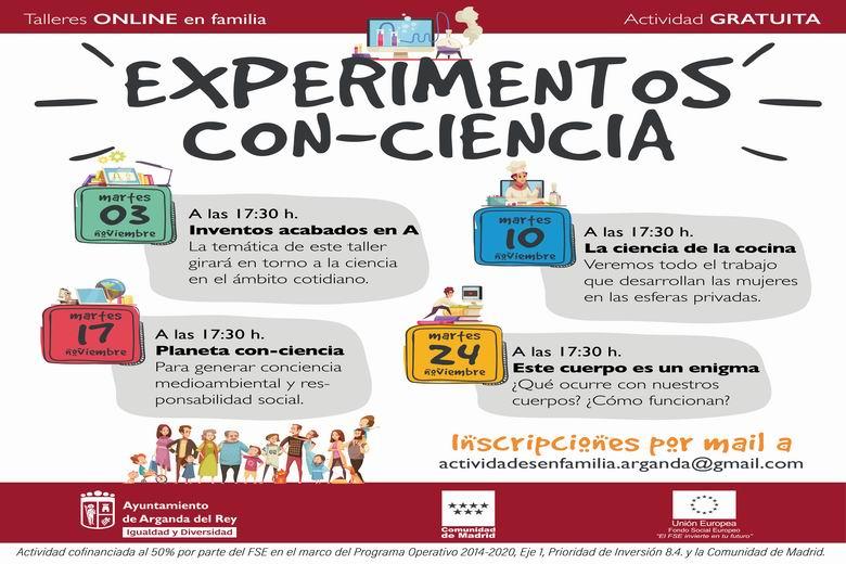 arganda experimentos con ciencia