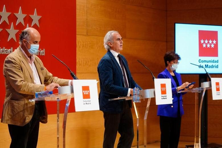 La incidencia de la COVID-19 baja en 45 de las 46 Zonas Básicas de Salud de la Comunidad de Madrid que empezaron con restricciones
