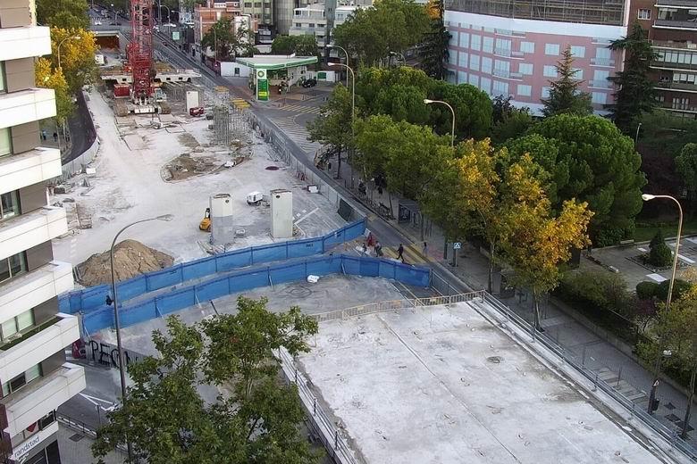 Madrid reabrirá al tráfico este miércoles la calle Príncipe de Vergara en su intersección con Francisco Silvela