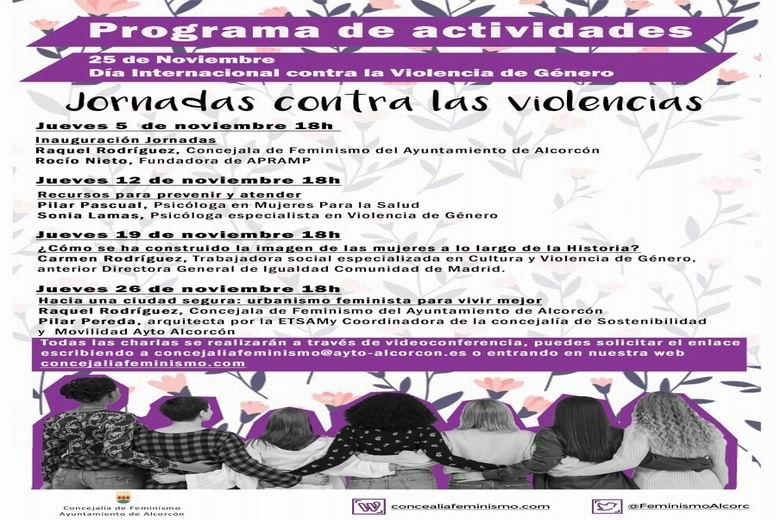Alcorcón presenta el programa de actividades para conmemorar el 25 de noviembre, Día Internacional contra la Violencia de Género