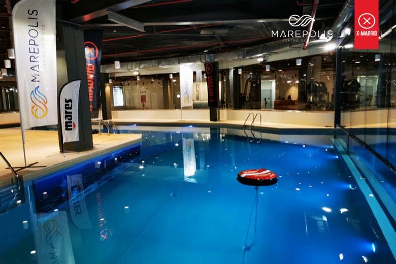 El centro comercial X-Madrid de Alcorcón inaugura Marepolis, el centro de buceo y apnea más grande de Madrid