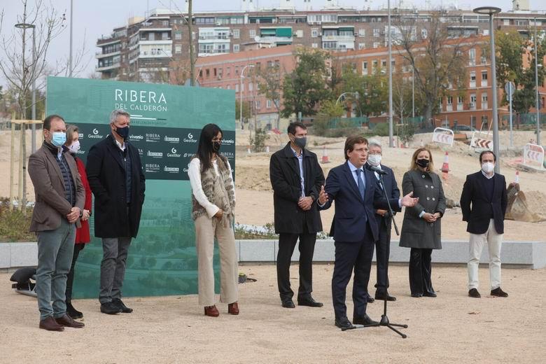 """Almeida presenta Ribera del Calderón, un proyecto """"que ejemplifica el mejor desarrollo urbano de la ciudad"""""""