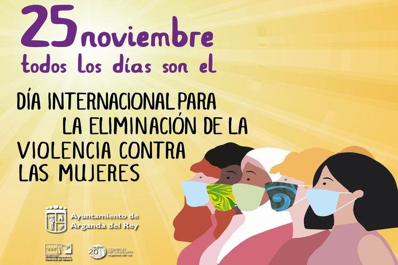 Las jornadas contra la Violencia de Género en Arganda comenzarán el 17 de noviembre