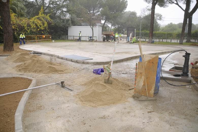 Boadilla inicia la remodelación integral del parque Bonanza