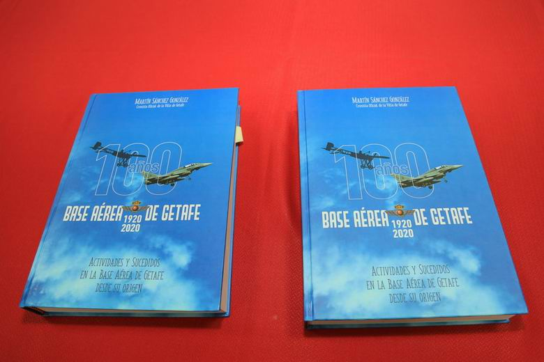 Un avión del Ejército del Aire llevará el escudo de Getafe para conmemorar los 100 años de existencia de la Base Aérea en el municipio