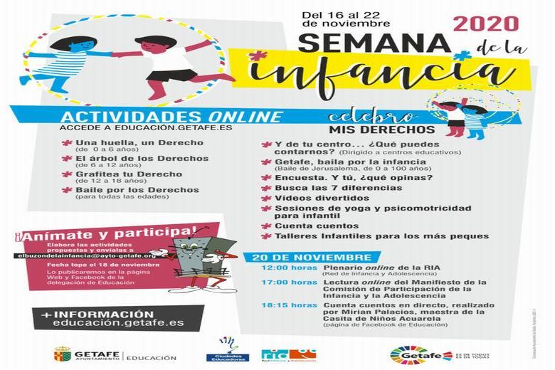 Getafe celebra una jornada especial por los derechos de la infancia