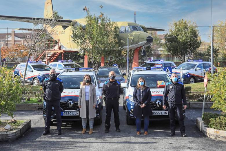 La Policía Local de Getafe adquiere 7 nuevos vehículos y mejora sus telecomunicaciones