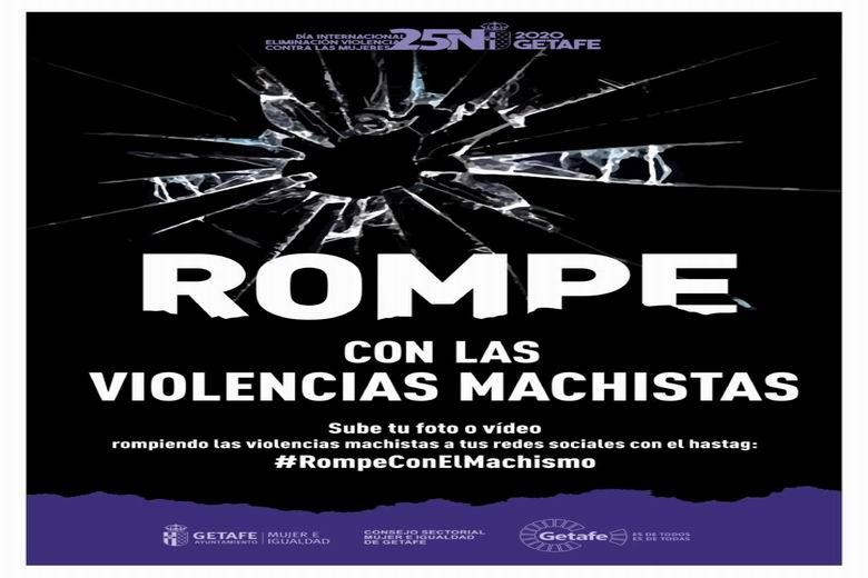 Getafe llama a romper con las violencias machistas con motivo del 25N, Día Internacional contra la Violencia de Género