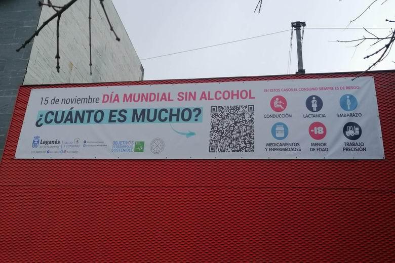 Leganés lanza la campaña 'Alcohol, ¿cuánto es mucho?' para sensibilizar y alertar de los peligros de su consumo