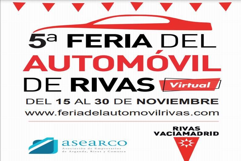 Este domingo arranca la Feria del Automóvil de Rivas en una plataforma digital y de la mano de 22 concesionarios