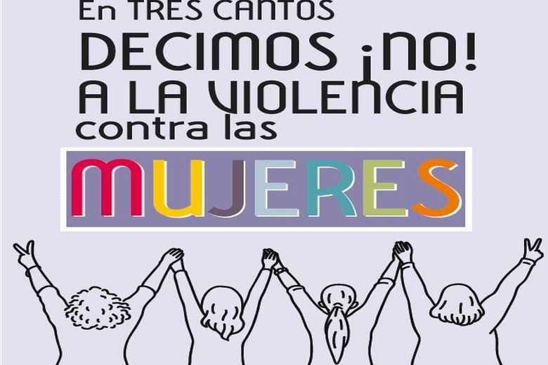 El Ayuntamiento edita el tríptico 'En Tres Cantos decimos ¡no! a la violencia contra las mujeres' con información para detectar, actuar y ayudar ante estos casos