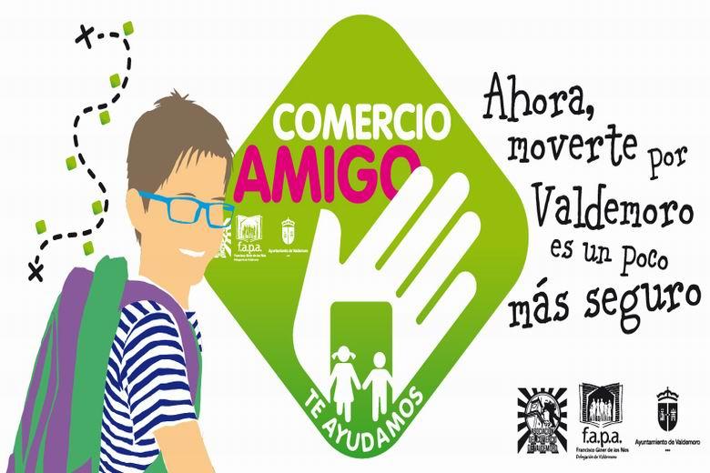'Comercio amigo', una iniciativa de Valdemoro para reforzar la seguridad de los menores en sus desplazamientos