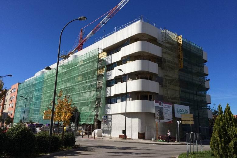 Muy avanzadas las viviendas públicas que la EMSV de Getafe está construyendo en El Rosón