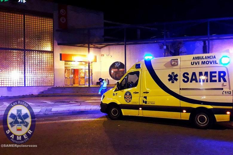 Dos heridos en Las Rozas tras una agresión a vigilantes de seguridad en la estación de RENFE Cercanías de Las Matas
