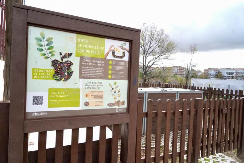 """El programa """"Móstoles Composta"""", modelo de reciclaje y reutilización de residuos orgánicos para otros municipios"""