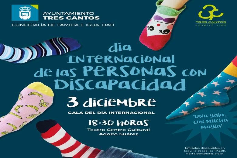 Tres Cantos conmemora el Día Internacional de las Personas con Discapacidad para dar visibilidad a este colectivo